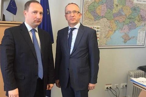 Глава Харьковской ОГА встретился с послом ЕС в Украине