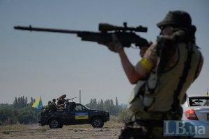 За сутки на Донбассе военные не гибли