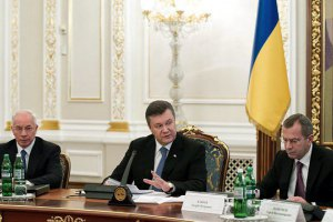 Янукович завтра собирает Совет регионов