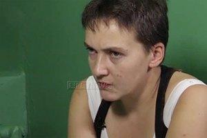 Савченко не привезли в суд, с ней общаются в режиме видеоконференции