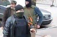 Обнародовано видео захвата здания милиции в Славянске