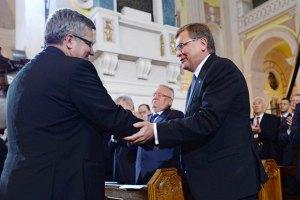 Поляки отметили отсутствие Януковича в Луцке