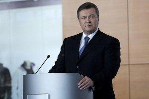 Янукович підкреслює важливість співпраці з США