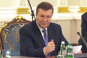 Янукович подписал принятые 16 января законы