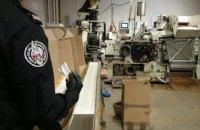 На подпольной табачной фабрике в Польше задержали 58 украинцев