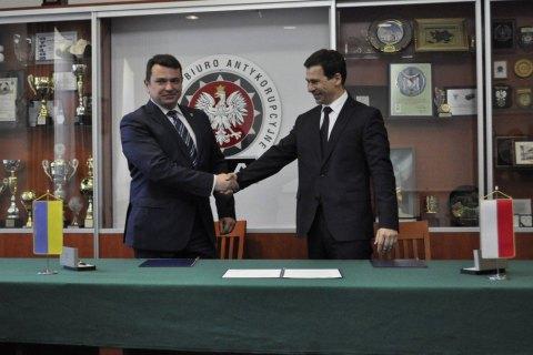 НАБУ и Антикоррупционное бюро Польши договорились о сотрудничестве