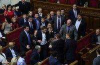 Анализ сетей в украинском парламенте