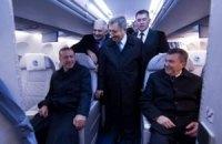 Янукович показал Эрдогану украинский самолет