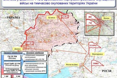 Разведка выложила данные о российских войсках на Донбассе