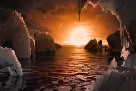 """Телескоп НАСА открыл семь потенциально обитаемых """"сестер"""" Земли"""