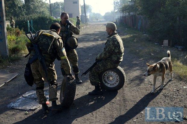 Добровольцы батальона Донбасс в Иловайске