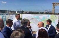 Германия поможет Киеву найти инвестора для достройки Подольского моста