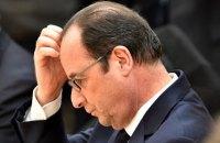 Парламент Франции отклонил проект резолюции об импичменте Олланда
