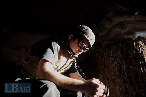 Число обстрелов на Донбассе снизилось