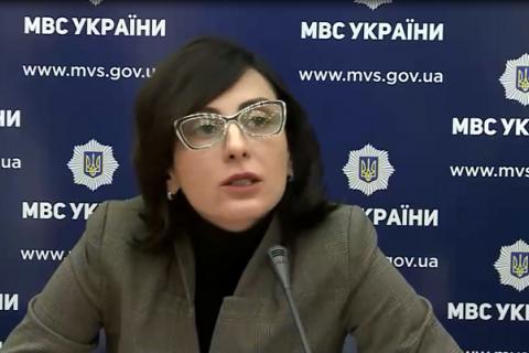 """Деканоидзе призвала Раду принять закон для противодействия """"ворам в законе"""""""