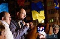 Для отставки Кабмина не хватает 3 голосов, - Яценюк