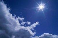 В субботу в Украине потеплеет