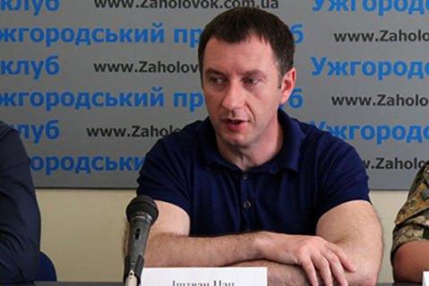 Заммэра Ужгорода Цапа арестовали справом залога в240 тыс. грн