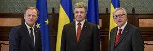 """Опубликовано совместное заявление саммита """"Украина - Евросоюз"""""""