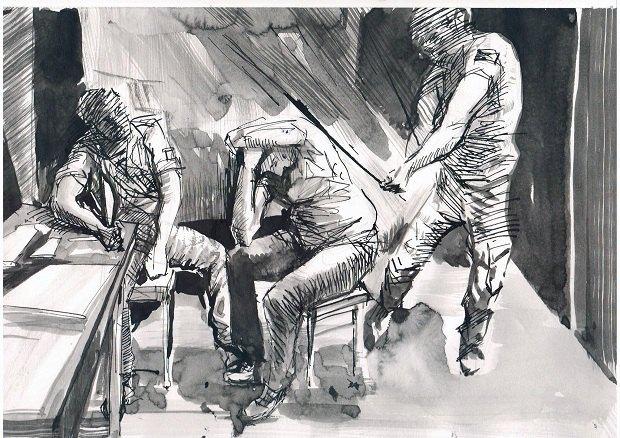"""Донецький художник створює комікси про свій полон в """"ДНР"""" (фото)"""