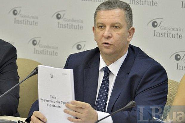 Министр социальной политики Андрей Рева