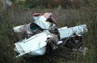 Разбившийся на Прикарпатье самолет принадлежал юношеской спортассоциации
