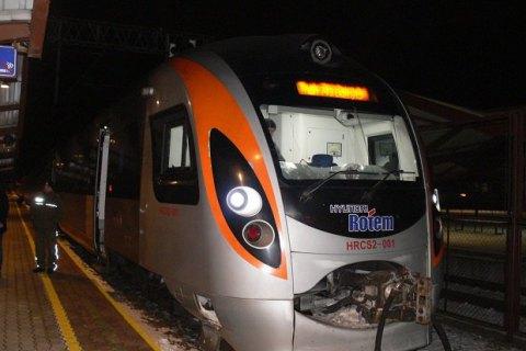 Наподъезде коЛьвову сломался поезд «Интерсити»