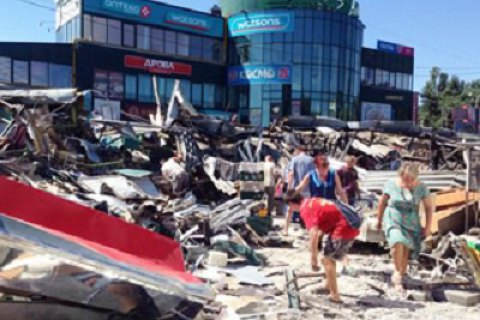 ВКиевблагоустройство поведали околичестве демонтированных незаконных построек
