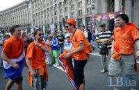 Уболівальники масово прибувають в Україну, - МВС