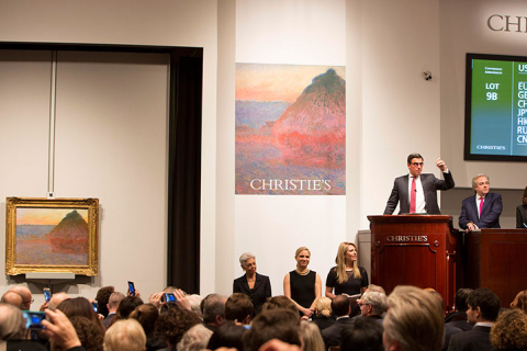 Картину импрессиониста Клода Моне «Стог сена» продали зарекордную сумму
