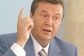 """Янукович пригрозил Ющенко """"различными методами"""""""