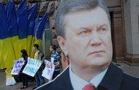 У КГГА пластиковый Янукович боролся за доступность информации
