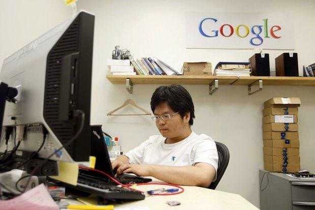 В офісі Google в Бейджингу, Китай