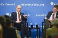 Яценюк - лідерам США і ЄС: ви не маєте права скасовувати санкції проти Росії, поки Україна не поверне Донбас і Крим