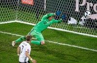 Сборная Украины проиграла немцам первый матч на Евро-2016