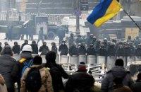 На Грушевского умер боец внутренних войск
