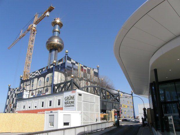 Мусороперерабатывающий завод в Швейцарии