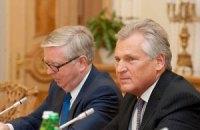 Кокс и Квасьневский уехали от Тимошенко без комментариев