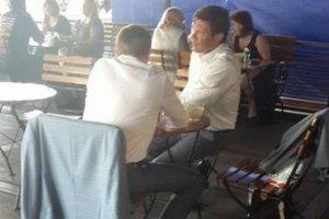 Царев встретился с сыном Пшонки в Москве
