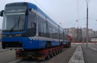 Киев получил второй польский трамвай Pesa