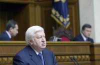 Пшонка прибыл в Раду для отчета о разгоне Евромайдана