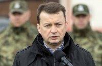 Глава МВД Польши пообещал не пускать в страну беженцев из Чечни
