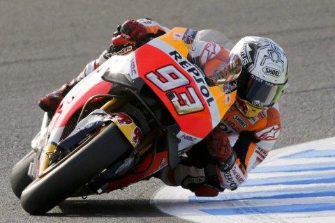 Маркес стал трехкратным чемпионом мира помотогонкам вклассе MotoGP