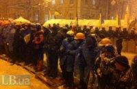 Оппозиции запретили собирать людей на перекрестке Крепостного переулка и Грушевского