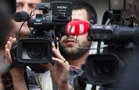 В Житомире журналистам запретили снимать кортеж Литвина