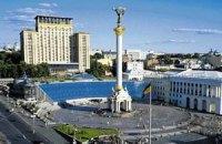 У центрі Києва встановили пластмасові урни