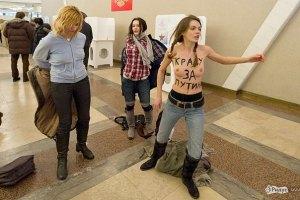 Трем активисткам FEMEN запретят въезд в Россию