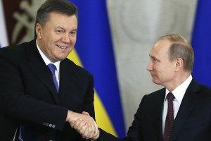 Янукович не смог ответить на вопрос, признает ли его Путин