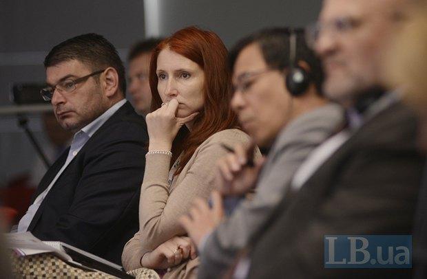 Звездомир Пенков, советник посольства Болгарии в Украине и Иева Майоре заместитель главы миссии Латвийской Республики в Украине