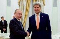 Госдеп рассказал о встрече Керри и Путина